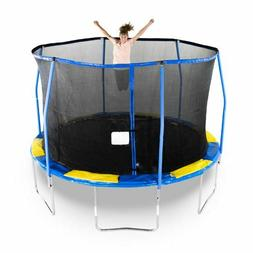 Outdoor Trampoline Toddler Child Kid Boy Girl Jump Exercise