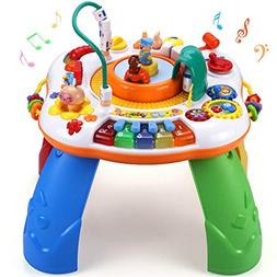 Learning Activity Table Toddler Toys Musical Activity Center