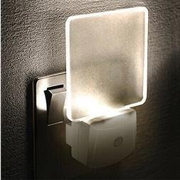 LED Night Light Plug In Auto Sensor Energy Saving Children N