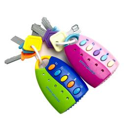 Toy Baby For Toddlers And Baby Toys-Toy Car Keys With Keycha