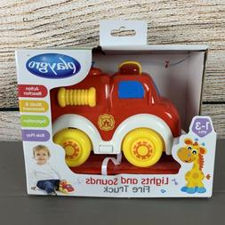 Playgro Lights and Sounds Fire Truck for Baby Infant Toddler