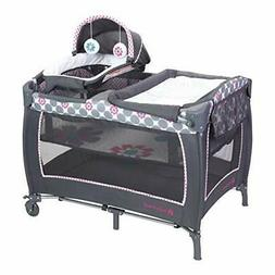 Baby Trend Lil Snooze Deluxe 2 Nursery Center Daisy Dots Cri