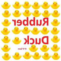 Lot of 10-200 Mini Yellow Rubber Ducks Bathing Floating Duck