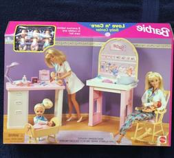 Barbie Love 'n Care Baby Center Playset w 3 Baby Dolls