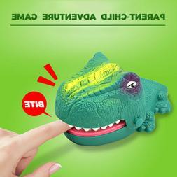 Luminous Dinosaur Game Classic Spoof Biting Finger Dinosaur