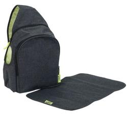 Safety 1st Lux Diaper Bag Back Pack - Gravity Finish