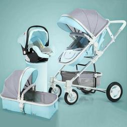 Luxury Infant Baby Stroller 2 in 1 high Landscape Baby Strol