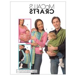 McCall's Patterns M5678 Baby Carriers, One Size Only