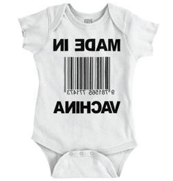 Made In Vachina China Funny Shower Gift Idea Newborn Romper