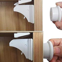 Smart Baby Magnetic Child Safety Locks - Cabinet and Cupboar