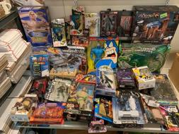 Massive 60 Piece Lot Toys Action Figures Playsets More Some