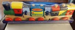 Melissa & Doug Stacking Train #572 Classic Wooden Toddler To