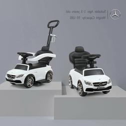 Mercedes-Benz Baby Kids Ride On Push Car Foot To Floor Strol