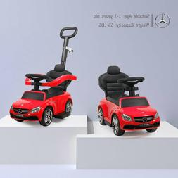 Mercedes-Benz Electric Kids Ride On Push Car Toddler Handle