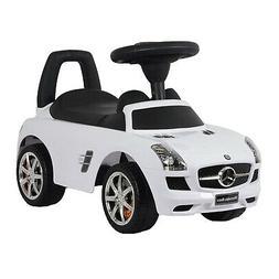 Mercedes SLS Push Car, White