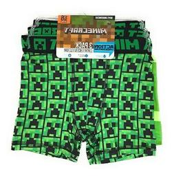 Minecraft Boys' Boxer Briefs 3 Pair - Size Small 6