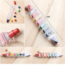 Mini 8 in 1 Color Crayon Pencil Pen Pastel Painting Drawing