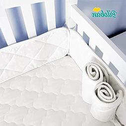 """Mini Crib Bumper Pads for Portable Mini Cribs 24""""x 38"""",Safe"""