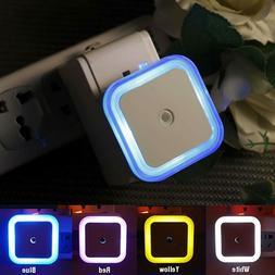 Mini Night Light Auto Sensor Led Lamp Human Bedroom Baby Nur