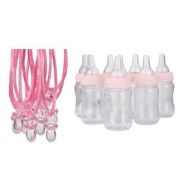 Mini Pacifier Pendants Necklaces & Feeding Bottle Game Gifts
