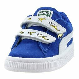 Puma Minions Suede V Infant  Casual   Sneakers - Blue - Boys