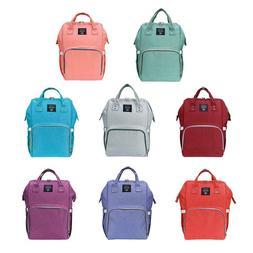 Mommy Backpack Diaper Bags Waterproof Large Capacity Casual