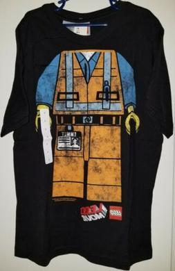 Lego Movie Emmet Construction Worker Figure Halloween Shirt