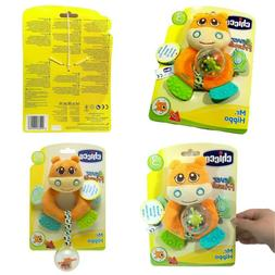 Chicco Mr. Hippo Baby Kid Toddler Rattle Crinkle Squeaky Cri
