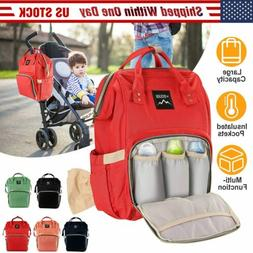 Mummy Backpack Diaper Bags Large Multifunctional Baby Nappy