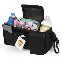 Mummy Bag Bottle Cup Holder Universal Baby Stroller Storage