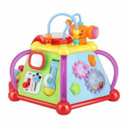Zooawa Musical Activity Cube Play Center,Educational Activit