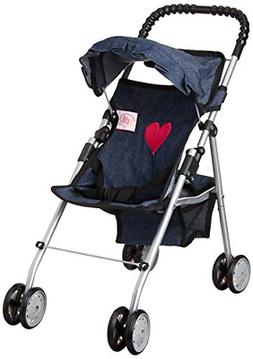 My First Doll Stroller Denim for Baby Doll NEW