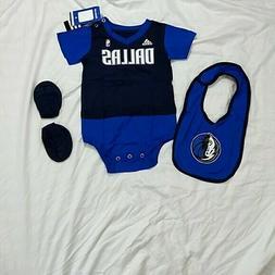 Adidas NBA Baby Clothing Set, Shirt, Bib, Socks, Size 24 Mon