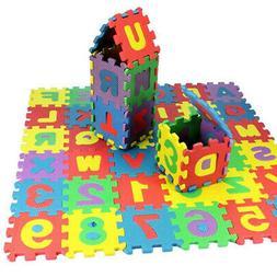 NEW 36 Pcs Soft EVA Foam Baby Kids Play Mat Alphabet Number