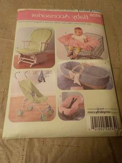 NEW 4636 Simplicity BABY ACCESSORIES Pattern Car Seat Stroll