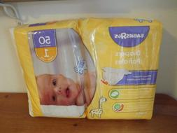 new BABIES R US disposable DIAPERS SZ 1 50CT TOYS R US 8-14L