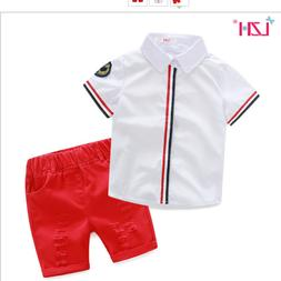 New Baby Clothes Kids Boys Suit Sport Toddler Boy Sets Cloth