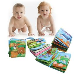 New Baby Early Educational Cloth Book Kid Child Funny Intell