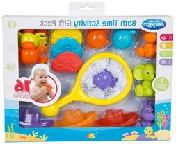 NEW Playgro Bath Time Activity Gift Pack for Baby Infant Tod