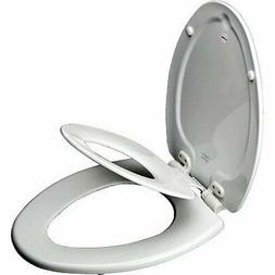 -NEW- Bathroom Adult Toilet Seat with Built-in Child Potty T