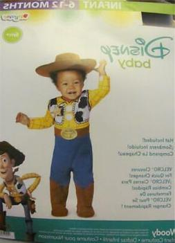 NEW Disney Baby Woody Toy Story Halloween Costume Infant 6 -
