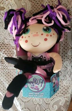 New FLIP ZEE GIRLS Baby To Girl Doll 2 IN 1 - ZURI Kitty CAT