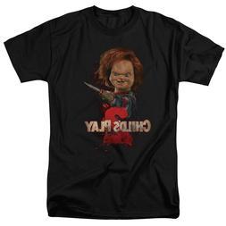 New Hand Child's Play 2 Classic Black T Shirt, Best Hallowee