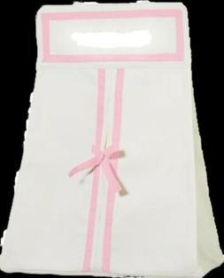NEW POTTERY BARN KIDS Harper Nursery Pink Diaper Holder Cadd