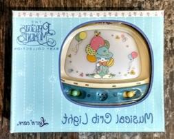 NEW in Box * Precious Moments Musical Crib Light * Clown Bal