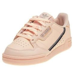 New INFANTS ADIDAS PINK CONTINENTAL 80'S LEATHER Sneakers Re