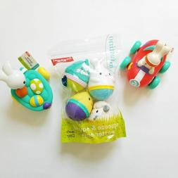 NEW Lot 3 Infantino Go Gaga! Easter Rubber Bunny and Speedst
