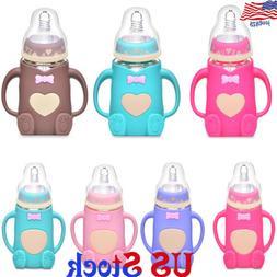 New MAM Bottle Feeding Baby Milk Teat Anti-Colic Drinking wa
