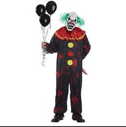 New Menacing Clown Boy Halloween Costume Costumes Kid Kids C