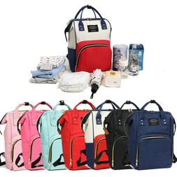 New Mummy Maternity Nappy Diaper Bag Large Changing Baby Tra